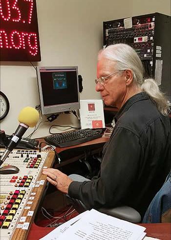 Eddie LeShure at WPVM FM